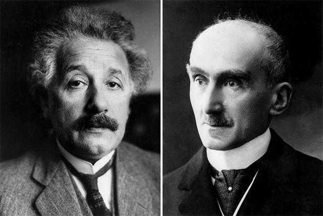 爱因斯坦与伯格森