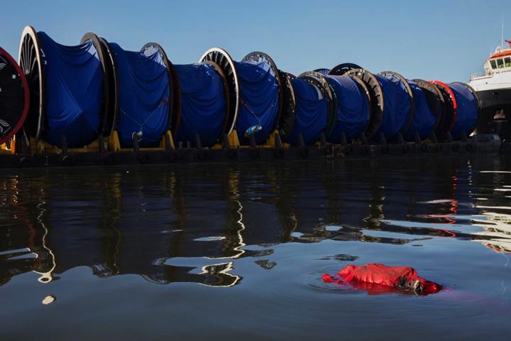 """被认为是""""奥运场馆附近""""漂浮的死尸"""