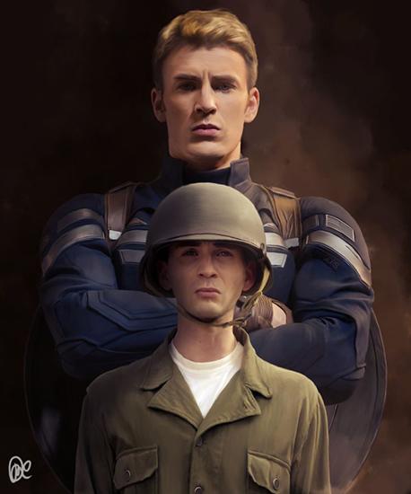 """""""矮冬瓜""""逆袭成为""""美国队长"""""""