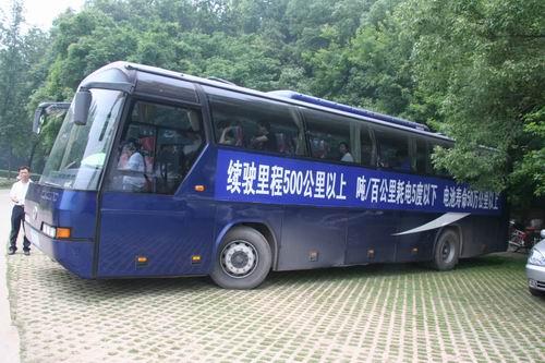 """曾经颇为有名的""""曹青山电动客车"""""""
