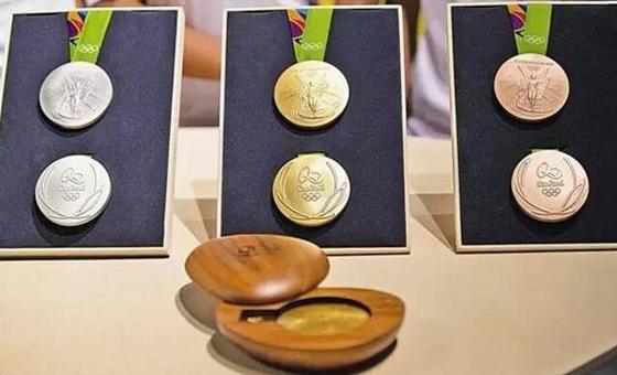 第31届里约奥运会奖牌