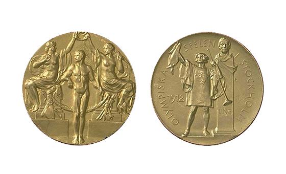 第5届斯德哥尔摩奥运会金牌