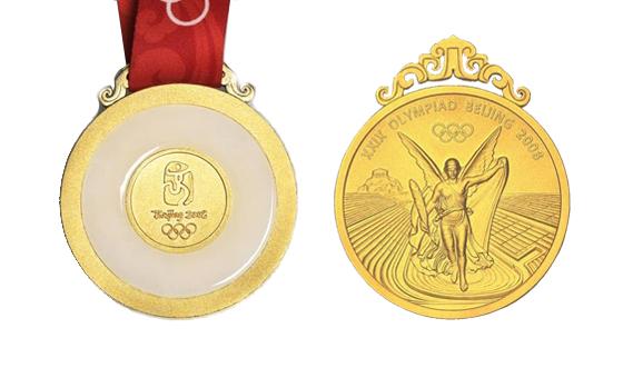 第29届北京奥运会金牌