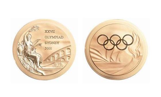 第27届悉尼奥运会金牌