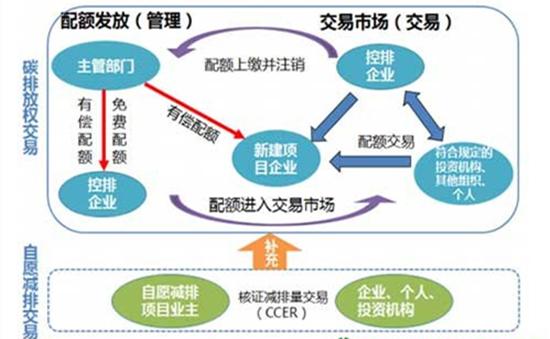 碳交易市场流程图