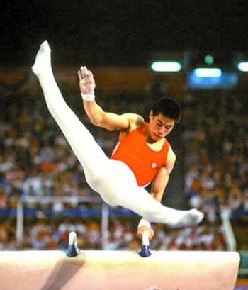 汉城奥运会上的李宁