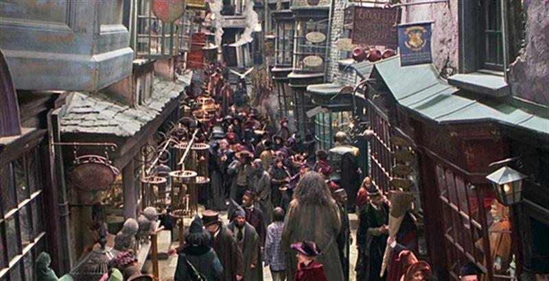 魔法界一线品牌商业街――对角巷(Diagon Alley)