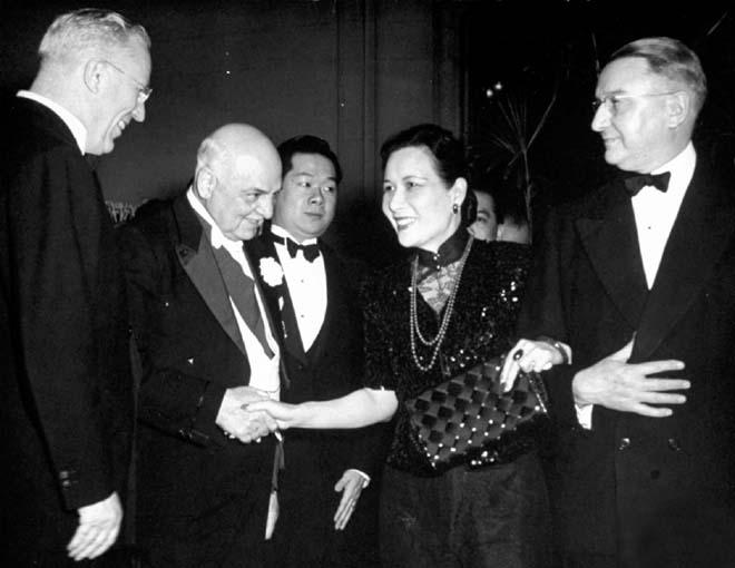 1943年5月宋美龄访问旧金山