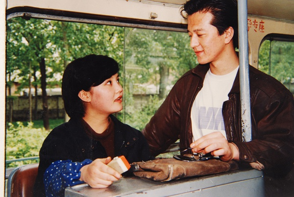 《北京你早》剧照,马晓晴与贾宏声