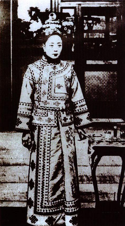 1930年故宫公布的珍妃遗像