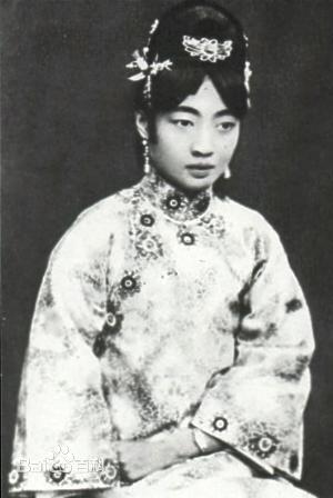 末代皇后的桃心刘海