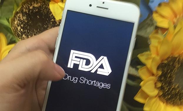 "为了监测短缺药物,FDA推出了一款App""Drug Shortages"""