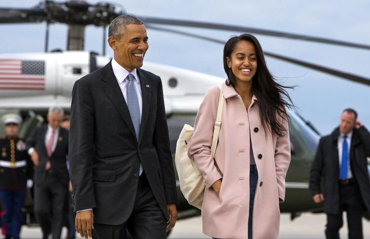 美国总统奥巴马的大女儿在高中毕业后选择了Gap Year