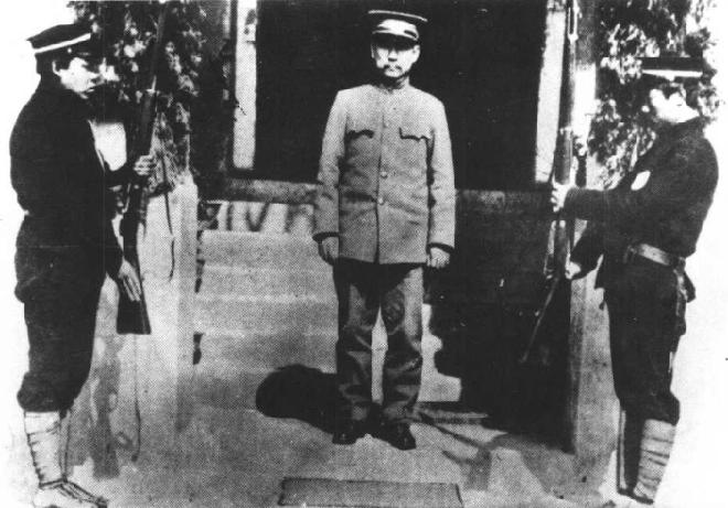 1912年,孙中山摄于临时大总统府