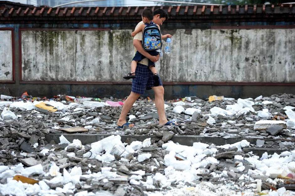 农民工子弟学校遭拆迁