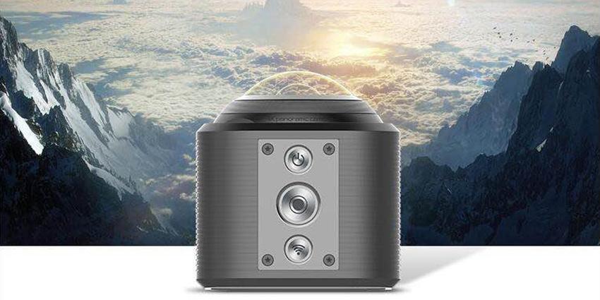 Camorama 4K全景运动摄像机发布