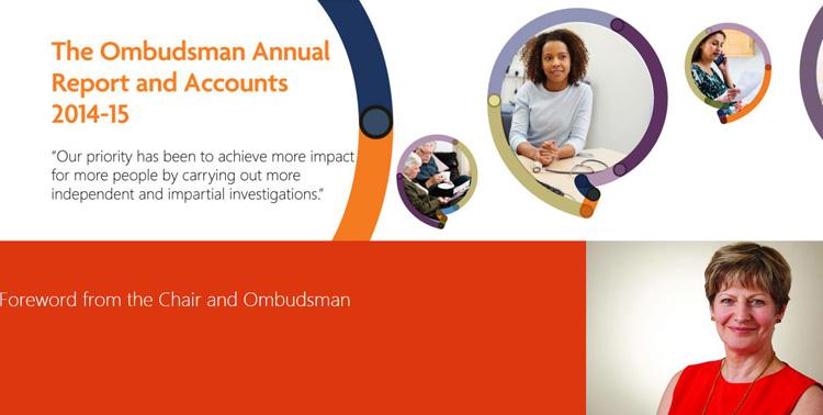 英国申诉专员每年都会出年度报告