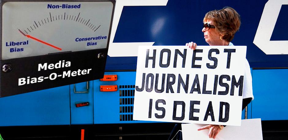 """一些美国人眼中,""""诚实的媒体已死"""""""