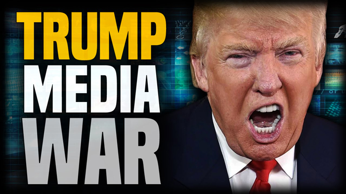 """许多人指出,特朗普面临的是一场""""媒体战争"""""""