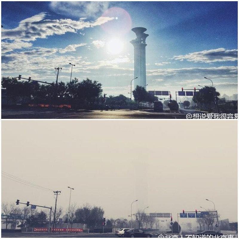 """人们希望的并不是""""雾霾毒性下降""""、""""中国人耐受力高"""",而是希望雾霾消失"""