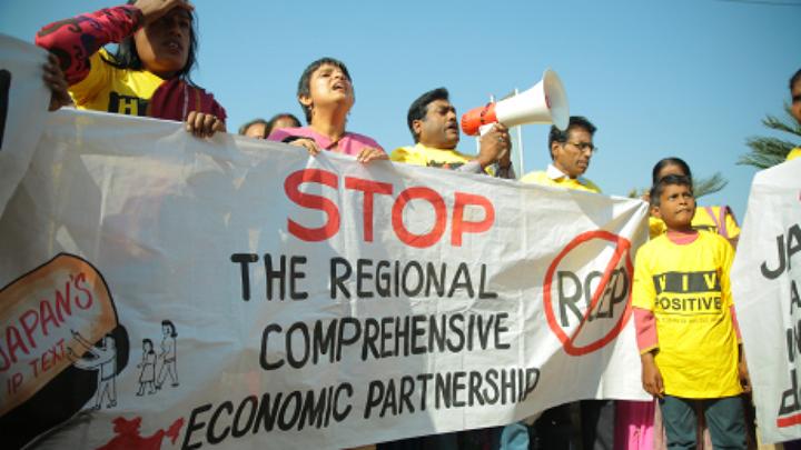印度国内有反对RCEP的声音