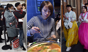 【鹅眼】中国赴韩游客:买买买,吃吃吃,拍拍拍