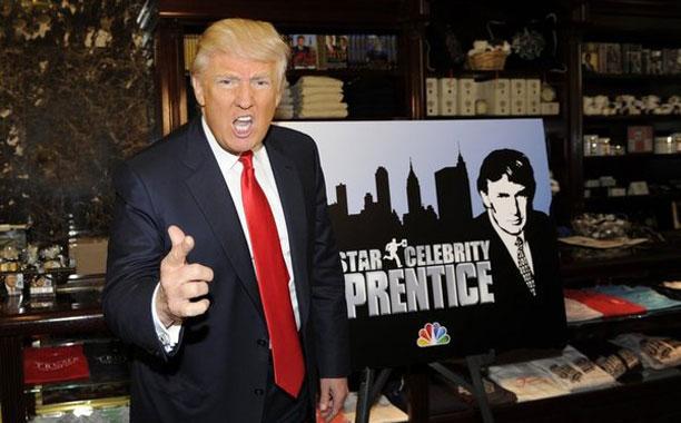 特朗普主持真人秀节目《谁是接班人》