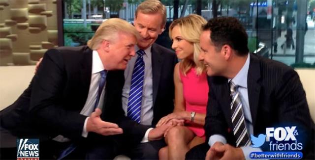 特朗普参加谈话节目《福克斯与朋友们》