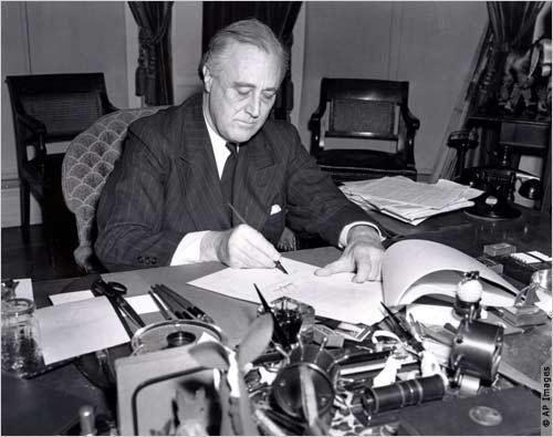 罗斯福总统是《租借法案》出台的最大推手