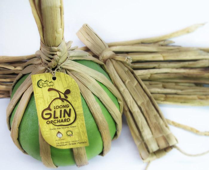泰国一家公司对柚子设想了一种巧妙的包装