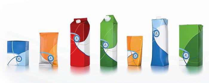 瑞典著名的环保包装利乐砖包装,欧洲的绿色包装已经相当普及