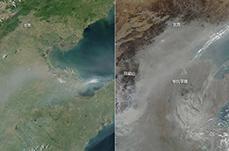 【图话】NASA拍北京雾霾15年:一步步变重