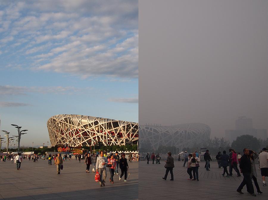 """APEC蓝背后是7省市的""""空气保障"""""""