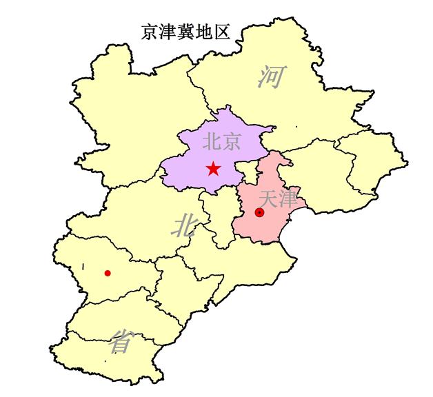 以重工业为主的京津冀地区雾霾严重
