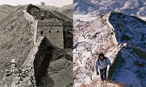 【鹅眼】穿越百年的长城对比照 有的已经消失