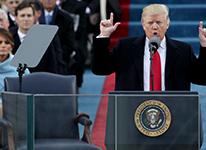 特朗普就职观礼人数超以往?