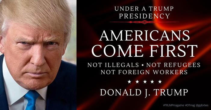 """特朗普表示""""美国优先""""不会影响他国利益,但问题在于,这真的做得到吗?"""