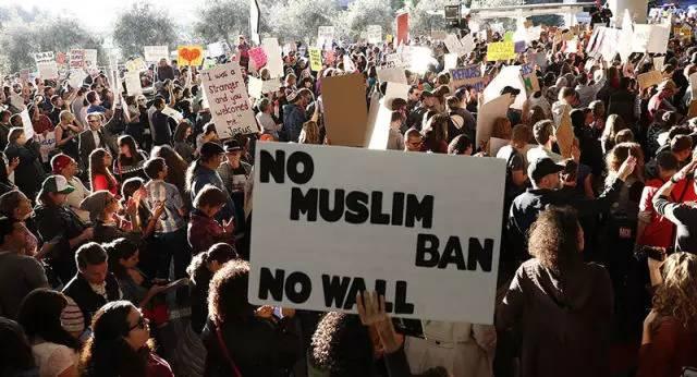 美国反禁令游行示威活动