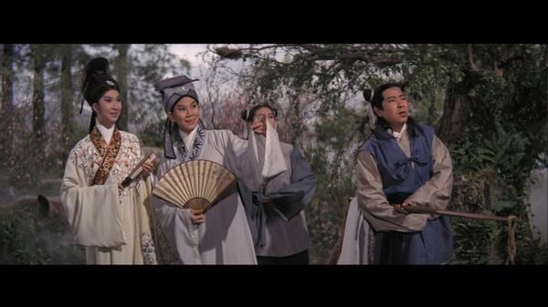 黄梅调电影《梁山伯与祝英台》(1963)
