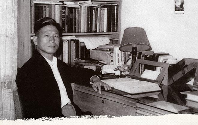 """殷海光。曾写作逻辑常识普及著作《逻辑新引:怎样辨别是非》,致力于在两蒋时代向台湾民间播撒""""逻辑种子""""。"""