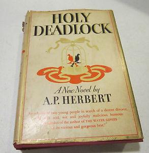 《神圣死锁》(Holy Deadlock )封面