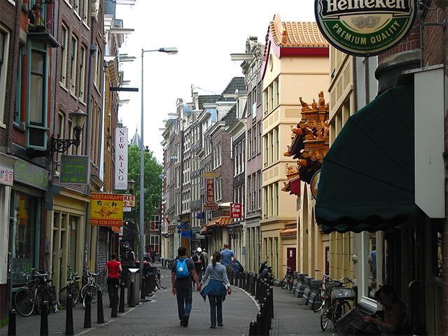 荷兰阿姆斯特丹中国城