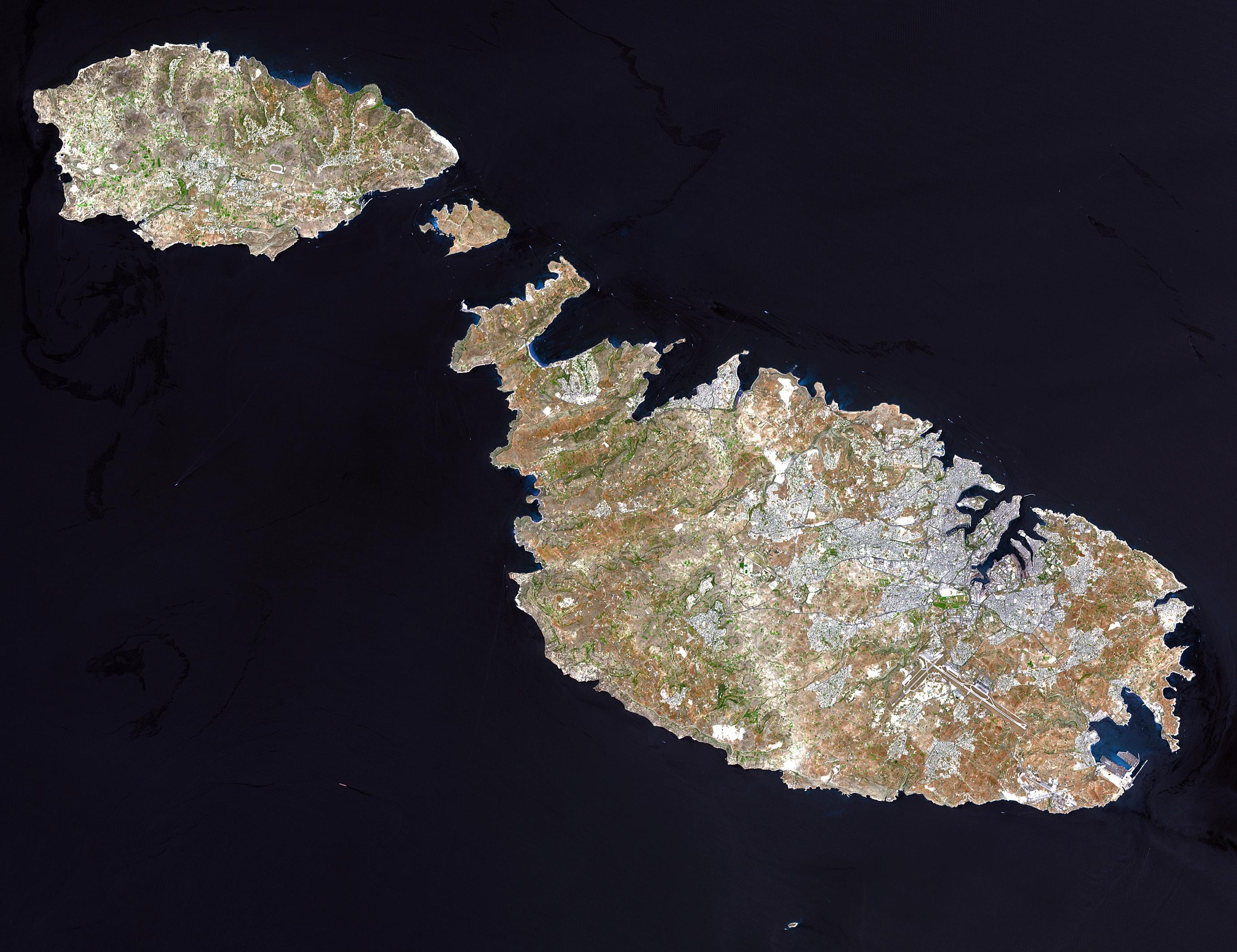 图3:马耳他的三个岛屿