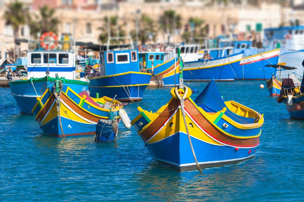 图9:传统的马耳他船只