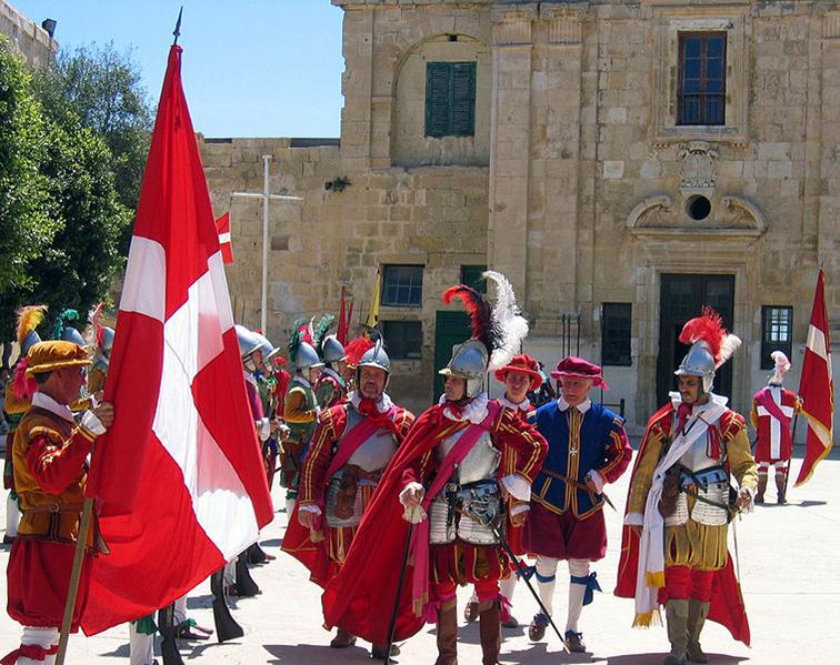 图12:重现圣约翰骑士团