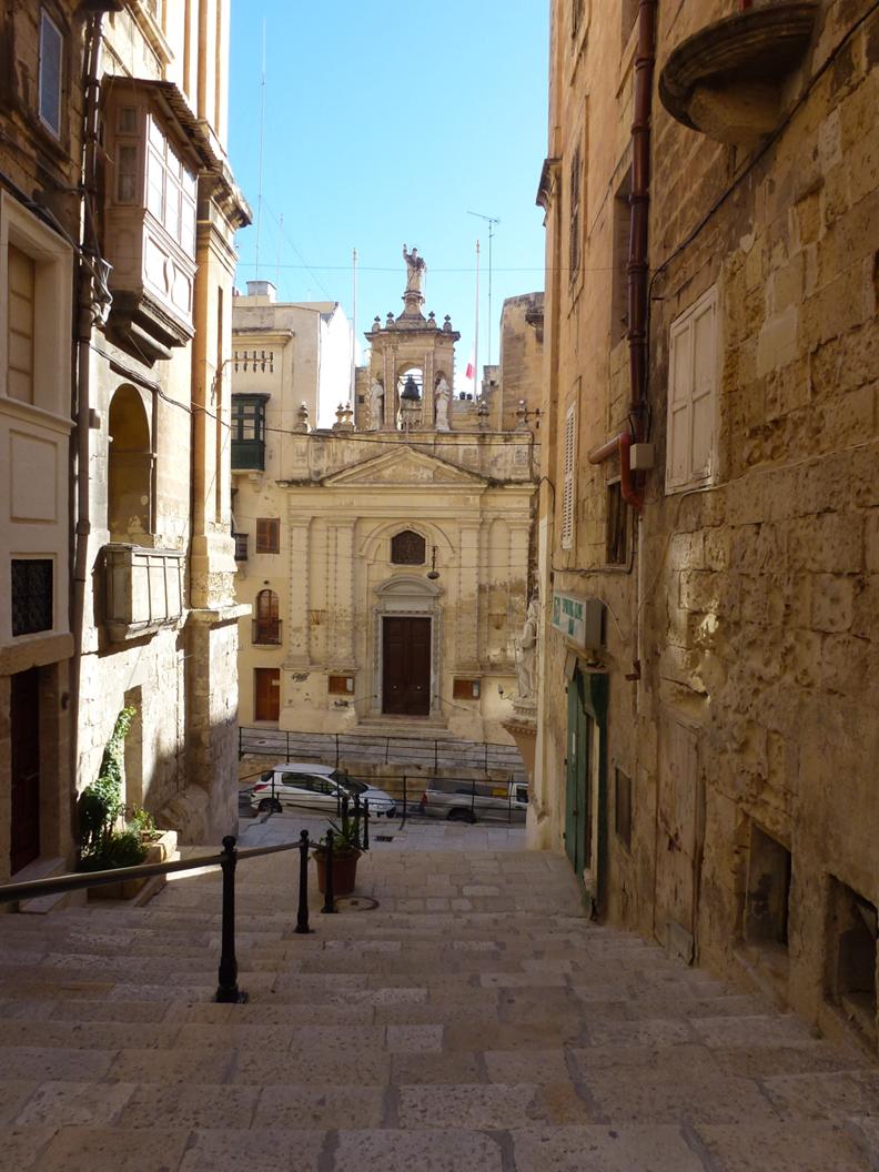 图13:瓦莱塔的街道
