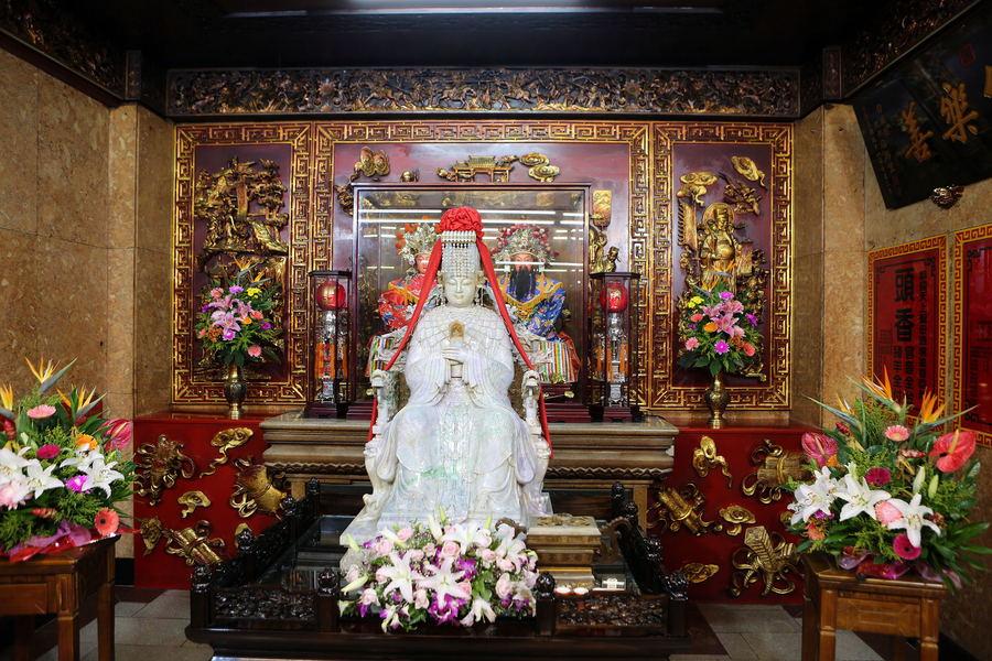 2016年11月8日,中国台湾,大甲镇澜宫妈祖庙。东方IC供图