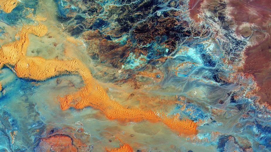 利比亚沙漠图像