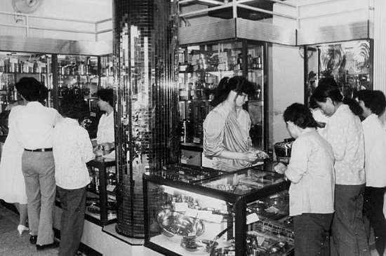 80年代的百货超市,源自网络