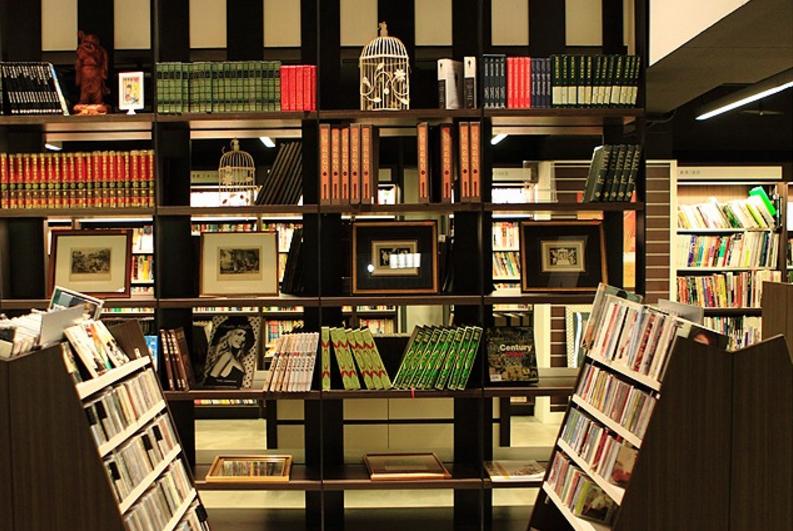 台湾茉莉二手书店内景